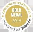 Grenache du monde 2019 - Gold + petit
